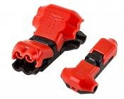 """24-18 AWG """"T"""" Tap Wire Splice Connectors - Single, Dual Channel"""