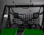 """24"""" Compact Off Road LED Light Bar - 63W: Installed On ATV"""