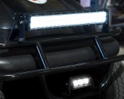 "4"" Compact Off Road LED Light Bar - 9W - 500 Lumens: Installed on Golf Cart"
