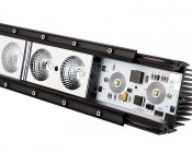 "50"" Off Road LED Light Bar with Spot/Flood Combo Beam - 240W: Disassembled To Show Components"