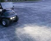 "6"" Off Road LED Light Bar - 18W: Installed on Golf Cart"