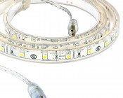 Outdoor LED Light Strips - Waterproof LED Tape Light with 18 SMDs/ft. - 1 Chip SMD LEDs 3528
