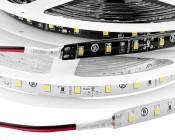 Outdoor LED Light Strips - Weatherproof LED Tape Light with 18 SMDs/ft. - 1 Chip SMD LED 3528