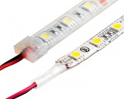 Outdoor LED Light Strips - Weatherproof LED Tape Light with 18 SMDs/ft. - 3 Chip SMD LED 5050