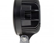 """5.75"""" Oval 27W Heavy Duty High Powered LED Work Light: Profile View"""