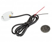 Oval LED Accent Light Module w/ 6 LEDs - Chrome: Back View