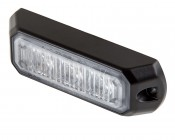 Vehicle LED Mini Strobe Light Head w/ Built-In Controller - 3 Watt - Surface Mount
