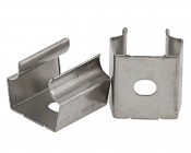 """Pair of Mounting Clips for 2"""" Wide Up/Down Aluminum LED Profile Housing"""