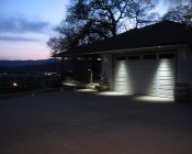 PAR30 LED Bulb - 12 Watt - Dimmable LED Spotlight Bulb: Shown Installed In Garage Overhang.