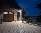 PAR38 Outdoor LED Bulb - 150 Watt Equivalent Weatherproof LED Flood Light Bulb - 1,500 Lumens: Installed in Luxury Home on Detached Garage