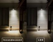 PAR38 LED Bulb - 100 Watt Equivalent - Dimmable LED Spotlight Bulb - 1,000 Lumens: Incandescent and LED Comparison