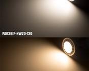 PAR38 Outdoor LED Bulb - 150 Watt Equivalent LED Flood Light Bulb - Weatherproof IP65: On Shot
