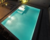 PAR56 LED Bulb - 70 Watt Equivalent - 12-Volt Pool Light: Installed in Pool