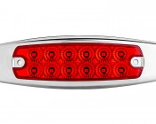 PBM-xHP12 series Peterbilt LED Marker Lamp: Front View
