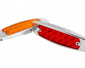 PBM-xHP12 series Peterbilt LED Marker Lamp: Available In Red & Amber