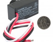 Photovoltaic Cell - Tork 120V AC Photocontrol: Back View.