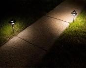 LED Landscape Path Lights - Dual Tier: 2 Watt vs 4 Watt- Warm White