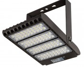 LED Parking Lot Light - 300W (1,000W MH Equivalent) LED Shoebox Area Light - 5000K - 39,000 Lumens PLL-TM U-Bracket Attached