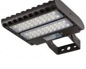 LED Parking Lot Light - 150W (500W HID Equivalent) LED Shoebox Area Light - 5000K - 19,500 Lumens - PLL-WM Mount Attached