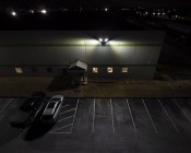 LED Parking Lot Light - 300W (1,000W MH Equivalent) LED Shoebox Area Light - 5000K - 39,000 Lumens: Illuminating Parking Lot Off Building
