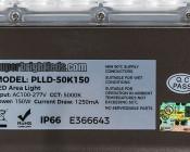 LED Parking Lot Light - 150W (500W MH Equivalent) LED Shoebox Area Light - 5000K - 19,500 Lumens
