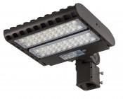 LED Parking Lot Light - 150W (500W HID Equivalent) LED Shoebox Area Light - 5000K - 19,500 Lumens