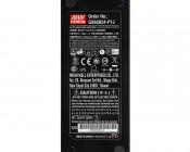 Desktop Power Supply - 24V DC GS Series: Close Up of Label