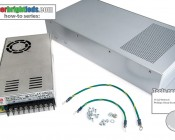 How To Install A Power Supply In TRC-E-SP200320