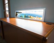 Custom Printed Even-Glow LED Panel Lights - Dimmable - 1' x 4': Custom Print Of Lake Tahoe.