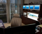 Custom Printed LED Panel Light - Dimmable - Even-Glow® Light Fixture - Stand Alone Kit