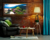 """LED Light Box Panels w/ Custom-Printed Luxart® Diffuser - Ultra-Thin Dimmable Even-Glow® Light Fixtures - Stand-Alone or Surface Mount - 21""""x21"""", 21""""x45"""", 9""""x45"""""""