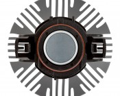 LED Headlight Kit - PSX24W LED Fanless Headlight Conversion Kit with Compact Heat Sink: Top View