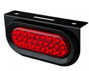 PT-R24 series Oval Truck Lamp With PT series Mounting Bracket & Rubber Grommit (sold separately)