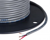 PVC Jacketed 3 Conductor 18 AWG Power Wire PP FRPVC Gray