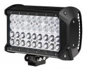 "9"" Quad Row Heavy Duty Off Road LED Light Bar with Multi Beam Technology - 108W"