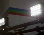 "7"" Quad Row Heavy Duty Off Road LED Light - 72W: Mounted To UTV"
