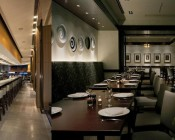 LED Aimable Recessed Light Fixture in Restaurants