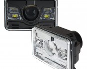 Rectangular H4651 LED Projector Headlights - LED Headlights Conversion