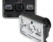 Rectangular H4656 LED Projector Headlights - LED Headlights Conversion