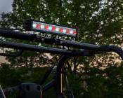 """18"""" Red/White LED Off Road Light Bar - 24W: Installed On UTV"""