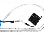 RGB Battery Powered LED Light Strips Kit - Multicolor - 2 Portable LED Light Strips: Connection