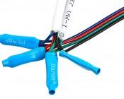 RGB Battery Powered LED Light Strips Kit - Multicolor - 2 Portable LED Light Strips: Connectors