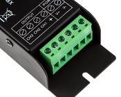 RGB LED Controller - Wireless RF Touch Color Remote with Dynamic Modes - 6 Amps/Channel: Remote Plug