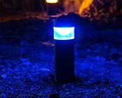 MR11-x12 - MR11 LED Bulb,  12 LEDs Installed In Bollard Light Fixture