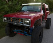 """50"""" Off Road LED Light Bar - 144W - 17,000 Lumens: Attached to Customer Custom Ford Bronco"""