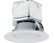 """Replacement LED Downlights for 4"""" Fixtures - 65 Watt Equivalent LED Can Light Replacement - Integral Junction Box - 650 Lumens"""