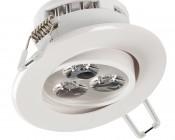 "LED Recessed Light Fixture - Aimable - 30 Watt Equivalent - 3.5"" - 290 Lumens"