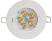 "LED Recessed Light Fixture - Aimable - 40 Watt Equivalent - 4.45"" - 460 Lumens"
