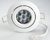 7 Watt LED Recessed Light Fixture - CREE XPE