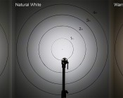 LED Recessed Light Engine - Round 90mm Gimbal Ring - 8 Watt COB LED: Cool, Natural, & Warm White Compared On Target